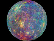 The surface and exosphere of the planet Mercury