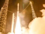 Sentinel-2A head into space on board the Vega VV05