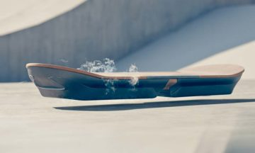 Lexus has created a hoverboard