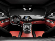 Mercedes-AMG GT  interior: Exclusive nappaleather AMG red pepper/black; trim: AMG carbon-fibre matt