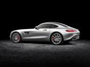 Mercedes-AMG GT  exterior: designo iridium silver magno