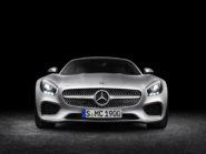 Mercedes-AMG GT  exterior: designo iridium silver magno, LED High Performance headlamps