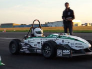 Electric formula car sets new 0-100 km/h record