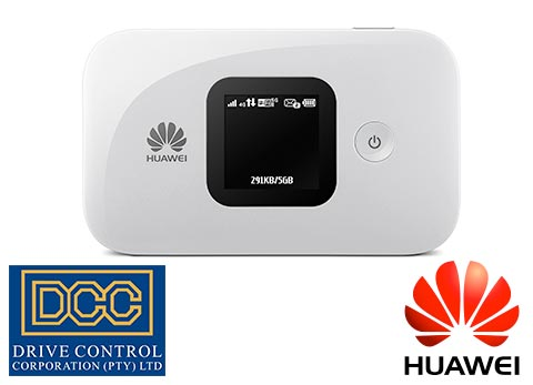 Huawei E5577 Mobile Wi-Fi router with battery and LCD screen