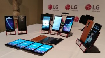 The G4 flagship is now joined by the G4 Beat and G4 Stylus