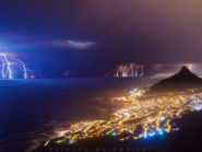 Lightning over the Mother City