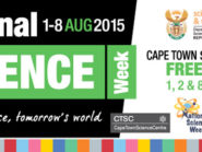 Get free entry to the Cape Town Science Centre on Saturday 8 August.
