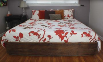 How to make a king sized bed