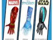 fantasy themed bionic arms for young amputees