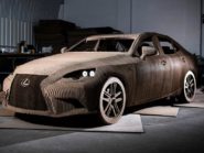 Lexus Origami IS front three quarter.