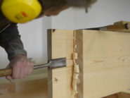 Building-support-beams-using-traditional-joinery