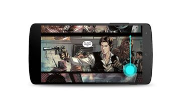 Google Play comic books scrolling
