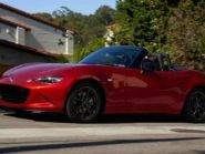 Mazda MX-5 front three quarter.