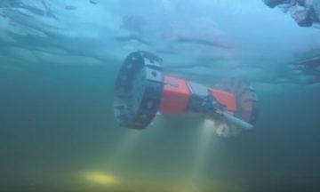 NASA's under-ice exploration Rover