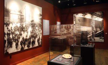 Titanic Artefact Exhibition construction gallery