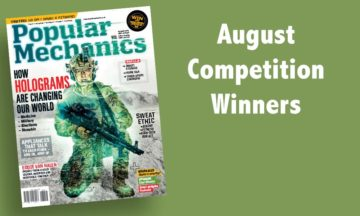 August 2015 competition winners