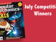 July 2015 competition winners