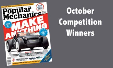 October 2015 competition winners