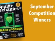 September 2015 competition winners