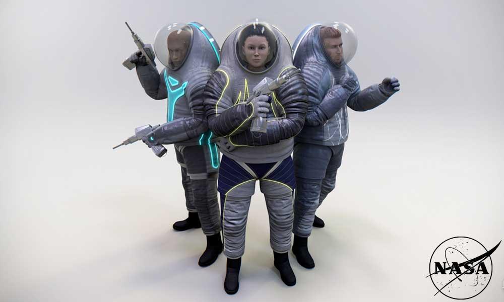 NASA explains space suit development