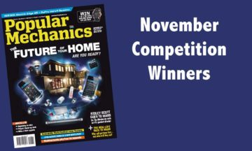November 2015 competition winners