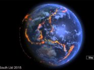 Data visualization of earthquakes across the globe