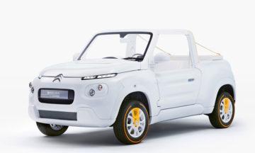 Citroën E-MEHARI electric coupe front view