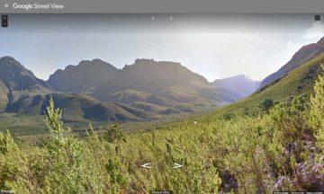 Jonkershoek Nature Reserve on Street View