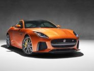 Jaguar F-Type SVR coupe.