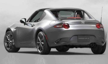 Mazda MX-5 RF left rear.
