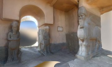 entrance to the Assyrian city of Nimrud