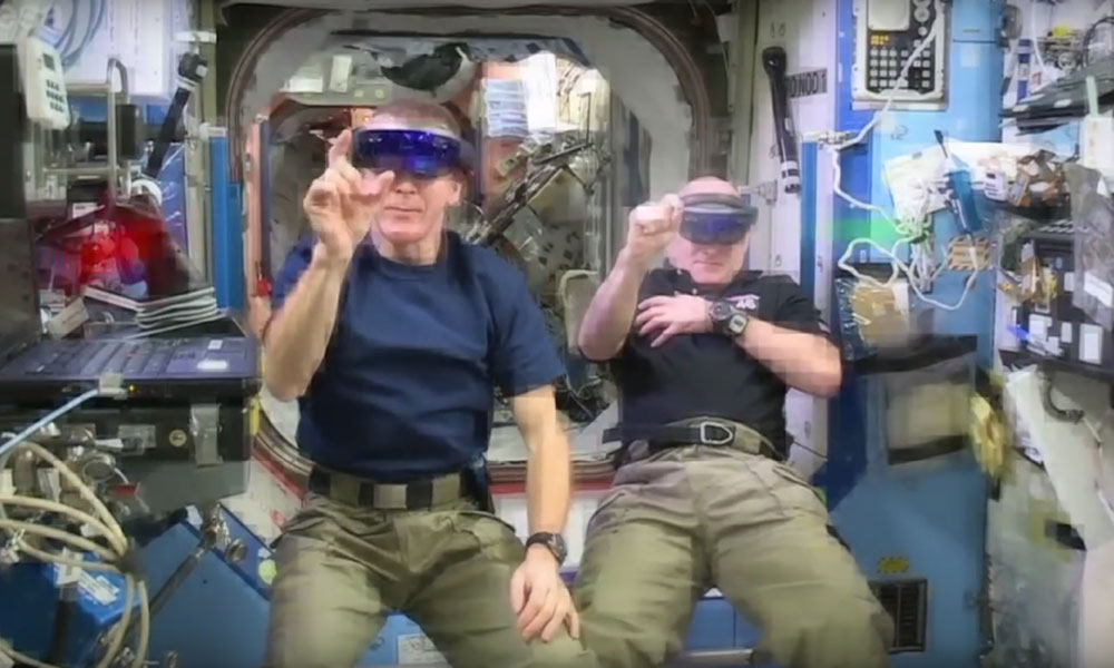 Virtual reality Space Invaders