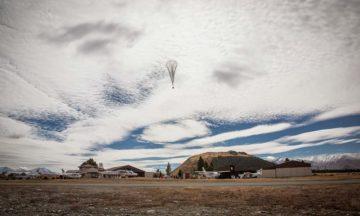 Project Loon balloon test