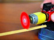 Home made mini rotary saw