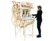 The MM Machine plays music using 2 000 marbles