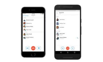 Voice chat Facebook Messenger
