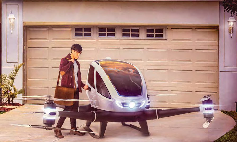 The future of the flying car