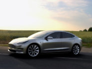 Tesla Model 3, Tesla's more affordable electric vehicle.