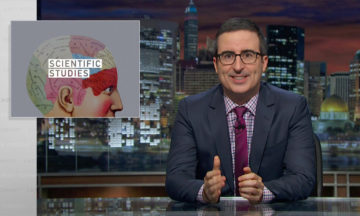 Last Week Tonight with John Oliver Scientific studies