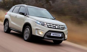 Suzuki Vitara driving