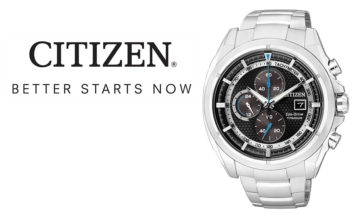 WIN 1 of 2 Citizen Eco-Drive Titanium watches worth R7 499 each!