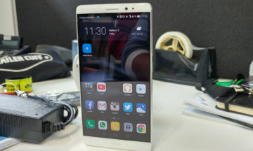 Huawei Mate 8 front