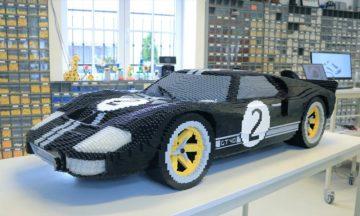 Lego Ford GT race car