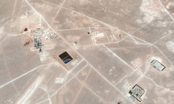 Aerial view of the study site at In Salah. Google Earth / Image © CNES / Astrium