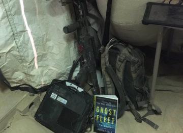 Anti-drome jamming gun used by US military