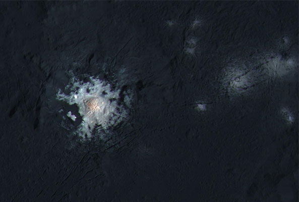 Occator Crater by NASA/JPL-Caltech/UCLA/MPS/DLR/IDA/PSI/LPI