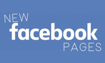 New Facebook pages 2016