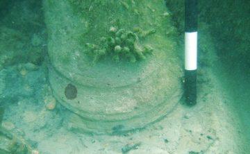 Underwater ruins actually microbial poop