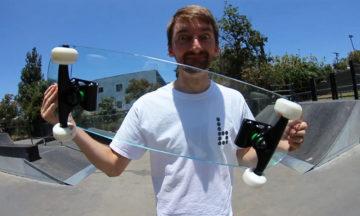 tempered glass skateboard