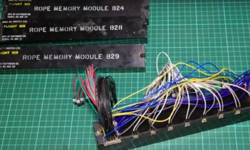 AS-202 core rope memory module as shown by Francois Rautenbach.